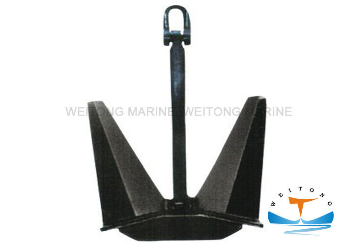 N Type Carbon Steel Anchor Smooth Anchor Flukes For Marine Mooring Equipment