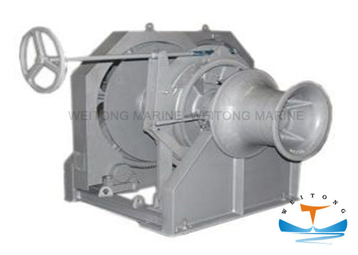 Marine Tugger Wire Rope Winch , Towing High Speed Electric Winch Low Operating Pressure