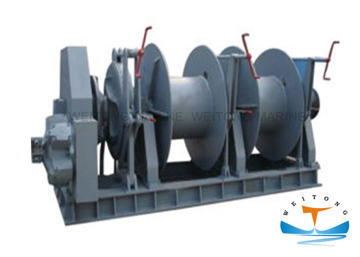 Hydrodynamic Vertical Anchor Windlass 11 Kw Motor Power Easy Operation