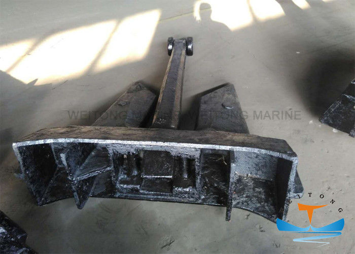 AC-14 Hhp Type Offshore Aquaculture Marine Boat Anchors Stockless Shape