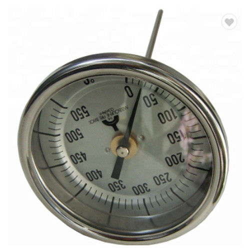 "Precision Back Connection Axial Bimetal Thermometer Dial 2"" 2.5"" 3"" 4"""